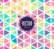 Vector Watercolor seamless pattern. Royalty Free Stock Image
