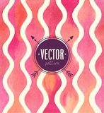 Vector Watercolor seamless pattern. Stock Photography
