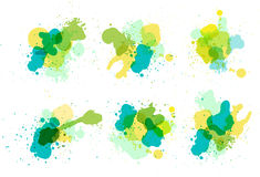Vector watercolor splatter Stock Image