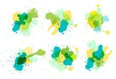 Vector watercolor splatter Stock Image
