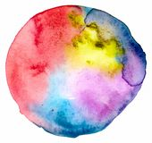 Vector watercolor spot Royalty Free Stock Images