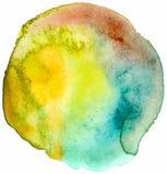 Vector watercolor spot Stock Photography