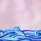 Vector watercolour background Royalty Free Stock Photo