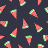 Vector watermelon seamless pattern Stock Image
