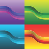 Vector wave Royalty Free Stock Photo