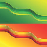 Vector wave Stock Image