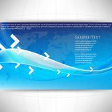Vector wave and arrows elements background Royalty Free Stock Image