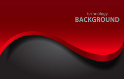 Vector wave background Stock Images