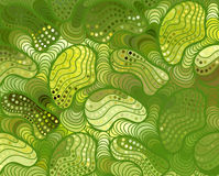 Vector wave background of doodle hand drawn lines Stock Photos
