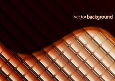 Vector wave mosaics background Royalty Free Stock Photo