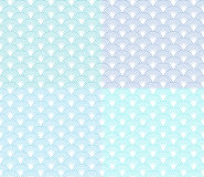 Vector wave seamless pattern Royalty Free Stock Images