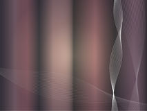 Vector Waves in Disco Colors 2 Royalty Free Stock Photography