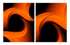 Vector wavy backgrounds set Stock Photography