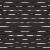 Vector wavy horizontal strokes seamless pattern Royalty Free Stock Photo