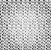 Vector Wavy Metal Seamless Pattern Royalty Free Stock Image