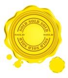 Vector wax seal Royalty Free Stock Photos