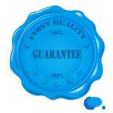 Vector wax seal Royalty Free Stock Image