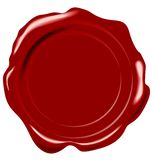 Vector wax seal Royalty Free Stock Photos