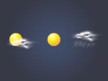 Vector weather autumn icons Stock Photo
