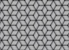 Vector weaved fiber seamless pattern Stock Photography