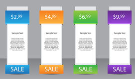 Vector Web Banner Royalty Free Stock Image