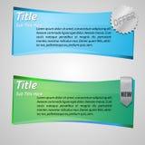 Vector Web Banner Stock Photos