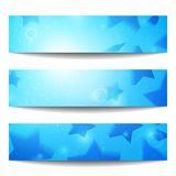 Vector web banners. One, two, three. Presentation slide template. Abstract background. Business background. Technology background. Party background. Music Stock Photos