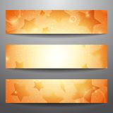 Vector web banners Stock Image