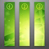 Vector web banners Royalty Free Stock Images