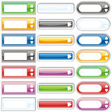 Vector web buttons Royalty Free Stock Images