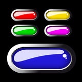 Vector web buttons Stock Image