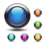 vector web buttons Royalty Free Stock Photos
