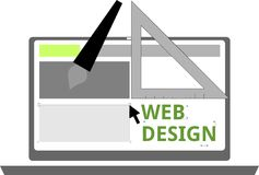 Vector - web design Stock Photo