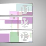 Vector web element for your design Stock Photo