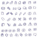 Vector Web icon doodles vector illustration