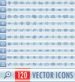 Vector Web Icon Set Royalty Free Stock Photo