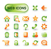 Vector web icon  set Stock Photo