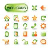 Vector web icon  set Stock Photo