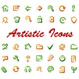 Vector web icons. royalty free illustration
