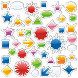 Vector web icons Royalty Free Stock Image