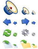 Vector WEB icons. Set 3. Stock Images