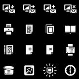 Vector Web Icons Set Stock Images