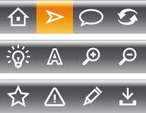 Vector web icons set Royalty Free Stock Image