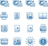 Vector Web Icons Set Royalty Free Stock Images