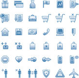 Vector Web Icons Set Royalty Free Stock Photos