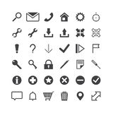 Vector web icons. Royalty Free Stock Photography