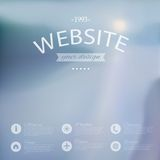 Vector web and mobile interface background. Stock Photo