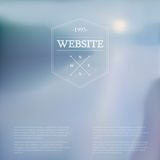 Vector web and mobile interface background. Royalty Free Stock Photo