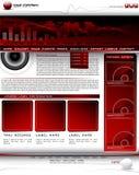 Vector web site design templat Stock Photography