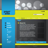 Vector web site design template Stock Images